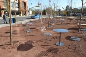 Park at Penrose Square on Columbia Pike