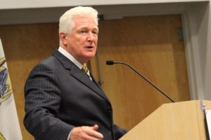 Rep. Jim Moran at the 2012 Civic Federation candidates debate