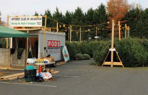 Arlington Optimist Club Christmas tree sale