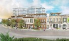 Proposed mixed-use development on the current Bergmann's site