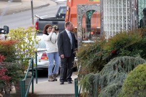 Vice President Joe Biden visits Metro 29 Diner on Lee Highway