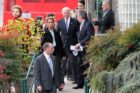 Vice President Joe Biden visits Metro 29 Diner on Lee Highway