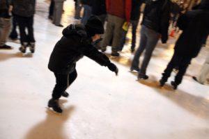 Chanukah on Ice 2012 at Pentagon Row