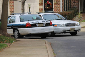 Arlington County police cars (file photo)