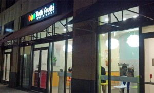 Tutti Frutti frozen yogurt on S. Fern Street in Pentagon City