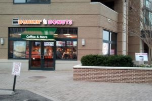 New Dunkin' Donuts store in Courthouse