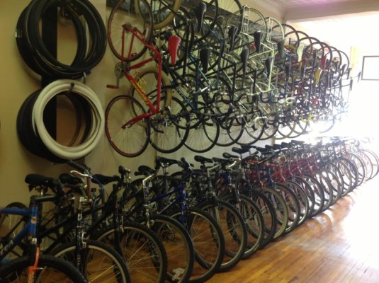 Old Bike Shop Opens In Lyon Park