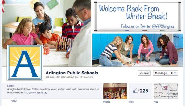 Arlington Public Schools Facebook page