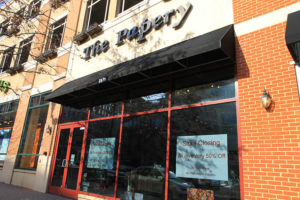 The Papery in Clarendon is closing