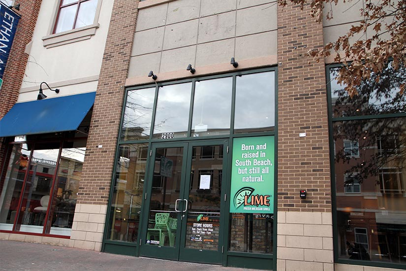 Lime Fresh Mexican Grill Closes In Clarendon Arlnow Com