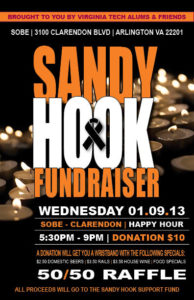 Sandy Hook fundraiser flyer