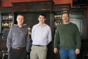 O'Sullivan's General Manager Patrick Doody, Manager David Morrin and Owner Anselm Griffiths