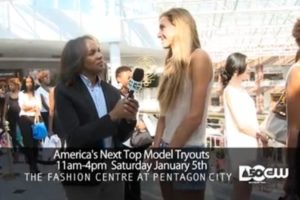 Screenshot of America's Next Top Model audition promo