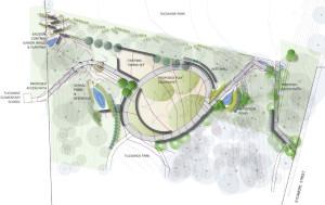 Plans for Tuckahoe Park