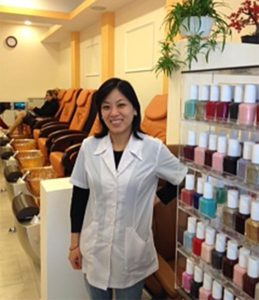 Yorktown Nails owner Li Vo (photo courtesy Sarah Moore)