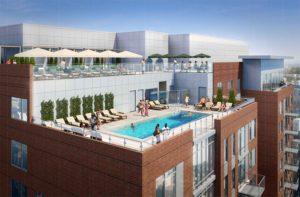 1720 S. Eads Street rooftop pool