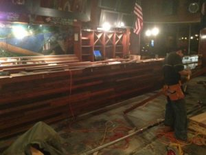 Rhodeside Grill renovations