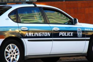 Old Arlington County police car paint job (file photo)