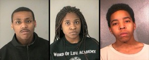 Suspects arrested for alleged apartment garage burglary