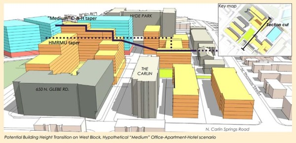 Illustration from the N. Quincy Street Plan Addendum