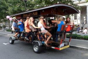 Trolley Pub (photo via Trolley Pub Facebook page)