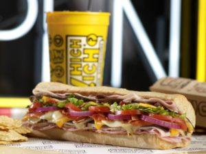 Which Wich sandwich (photo courtesy Which Wich)