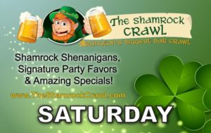 The Shamrock Crawl logo