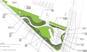 Glebe and Randolph park planning sketch