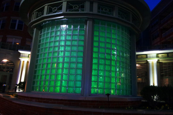 Green lights in Clarendon