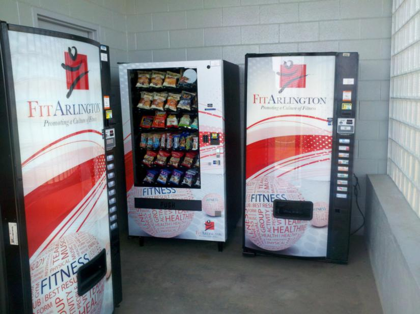 Arlington Deploys Healthier Vending Machines ARLnowcom - Monkey knows how to operate vending machine