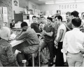Sit-in at Cherrydale Drug Fair, 1960 (photo courtesy washington_area_spark Flickr photostream)