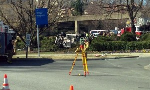 Fatal accident near the Key Bridge, via @jamesp326
