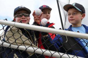 GW baseball game at the newly renovated Barcroft Park