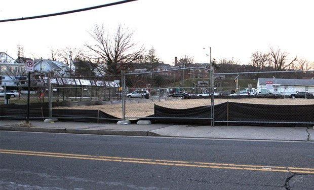 Lucky Seven site in Nauck after building demolition