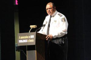 Rep. Jim Moran's panel discussion on gun violence at Washington-Lee high school