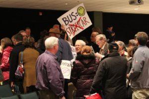 Public streetcar forum