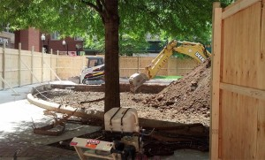 Renovations at Pentagon Row