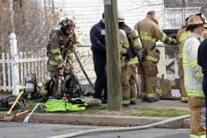 House fire on S. Lincoln Street