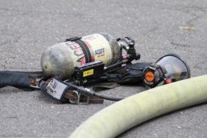 House fire on N. Dinwiddie Street