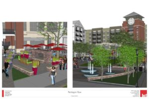 Pentagon Row Plaza Renderings (courtesy FRIT)