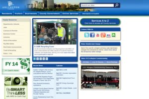Arlington County website