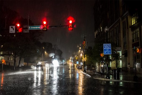 Columbia Pike in the rain by @ddimick