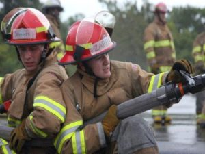 Female firefighters (via  Arlington County)