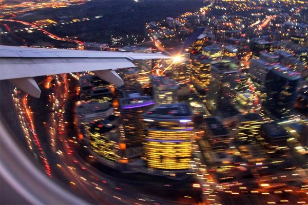 Landing over Rosslyn by BrianMKA