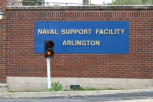 Suspicious substance investigation at Naval Support Facility Arlington