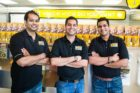 Which Wich Owners Shalin Patel, Irfaan Lalani and Faisal Lalani by Joy Asico