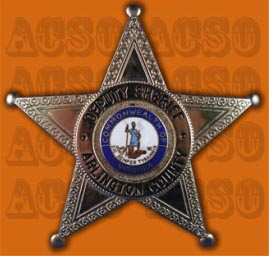 Arlington sheriff badge