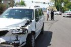 Accident closes Glebe Rd at Rte 50 (photo courtesy ACPD)