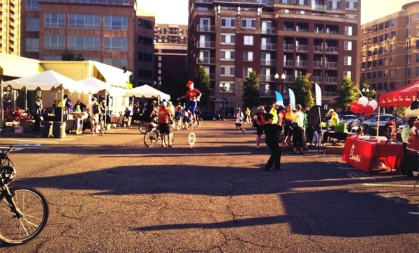Bike to Work Day (5/17/13) in Ballston (photo via @BallstonBID)