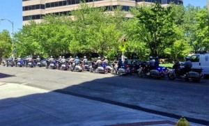 2013 NAIOP bus tour police escort (photo via @josephgruber)